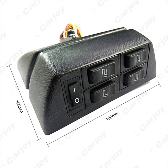 Car Power Window Main Console Switch(5in1)