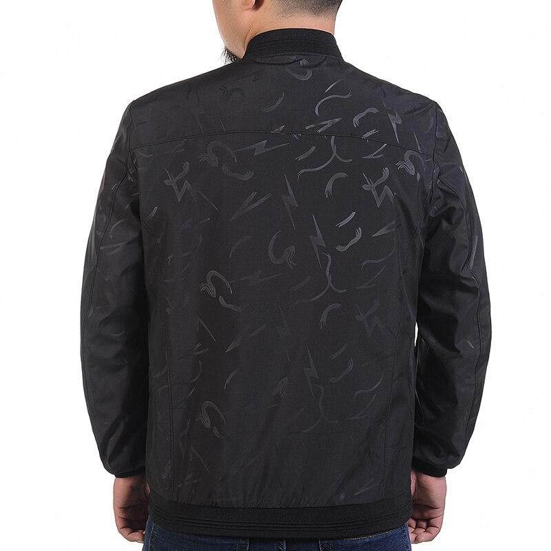 Новый Плюс Размер 9XL 8XL 7XL 6XL 5XL 4XL куртка мужская тренд колледж Slim Fit высококачественные повседневные мужские куртки и пальто - 2