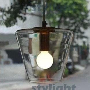 YC pendant lamp Modern Meridian Transparent Glass lamp Edison Light Bulb FILAMENT PENDANT LIGHTING pendant light modern design blue amber gray glass bulb included 110 220v free shopping pendant lamp