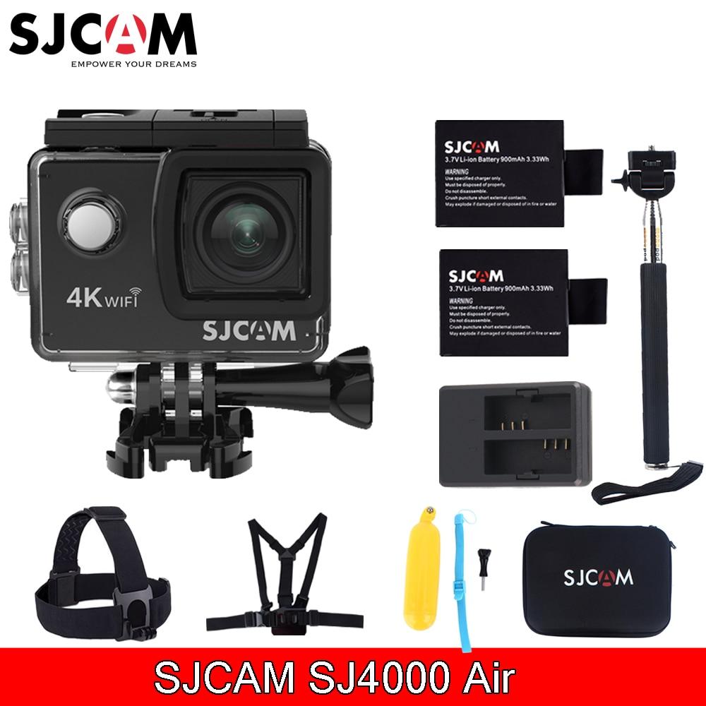 Sjcam Sj4000 Air 2.0'' Screen Wifi 4k 30 fps 16MP 30M Waterproof Sports Action Mini Camera With Various Accessories Choose
