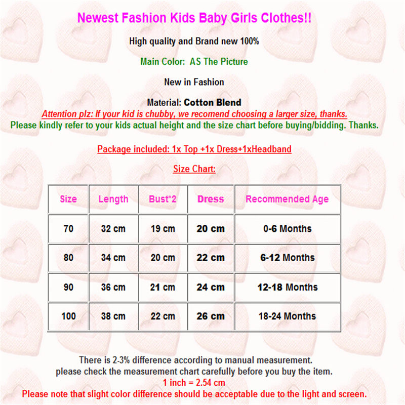 Emmababy Leisure Newborn Baby Girl Off Shoulder Baby Clothing Sets 2019 Newly Top Short Skirts Outfits 3Pcs Kids Clothes Set