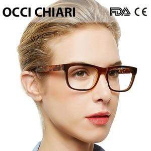 Image 3 - OCCI CHIARI Acetate Cao Cấp Kính Mắt Đơn Thuốc Kính Kính Quang Học Trong Suốt Mắt Người Phụ Nữ Máy Tính Khung W ZELCO