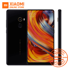 "Global Version Xiaomi Mi Mix 2 Mobile Phone 6GB 64GB Snapdragon 835 Octa Core 5.99"" 2160X1080 Full Screen Display Ceramics Body(China)"