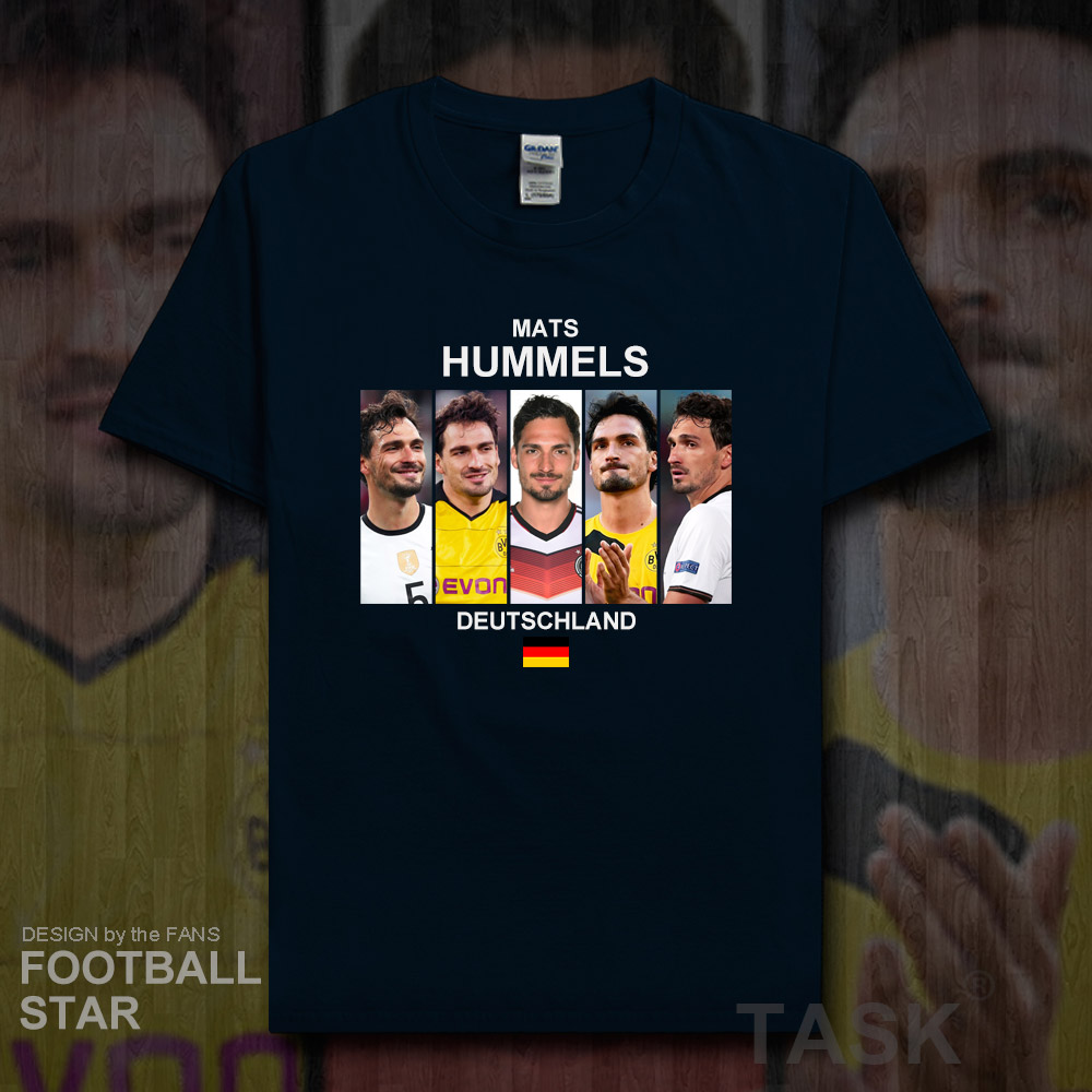 the latest 69012 0a9ea US $5.99 |Mats Hummels men t shirt jerseys Germany footballer star tshirt  cotton fitness The fans t shirts casual clothes summer tees 20-in T-Shirts  ...