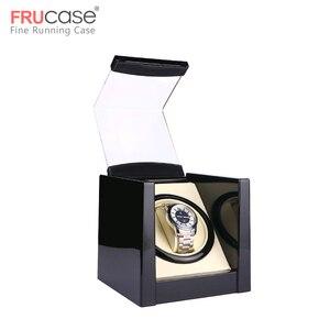 Image 2 - שחור יחיד שעון המותח עבור אוטומטי שעונים תיבת שעון אוטומטי המותח אחסון תצוגת מקרה תיבה