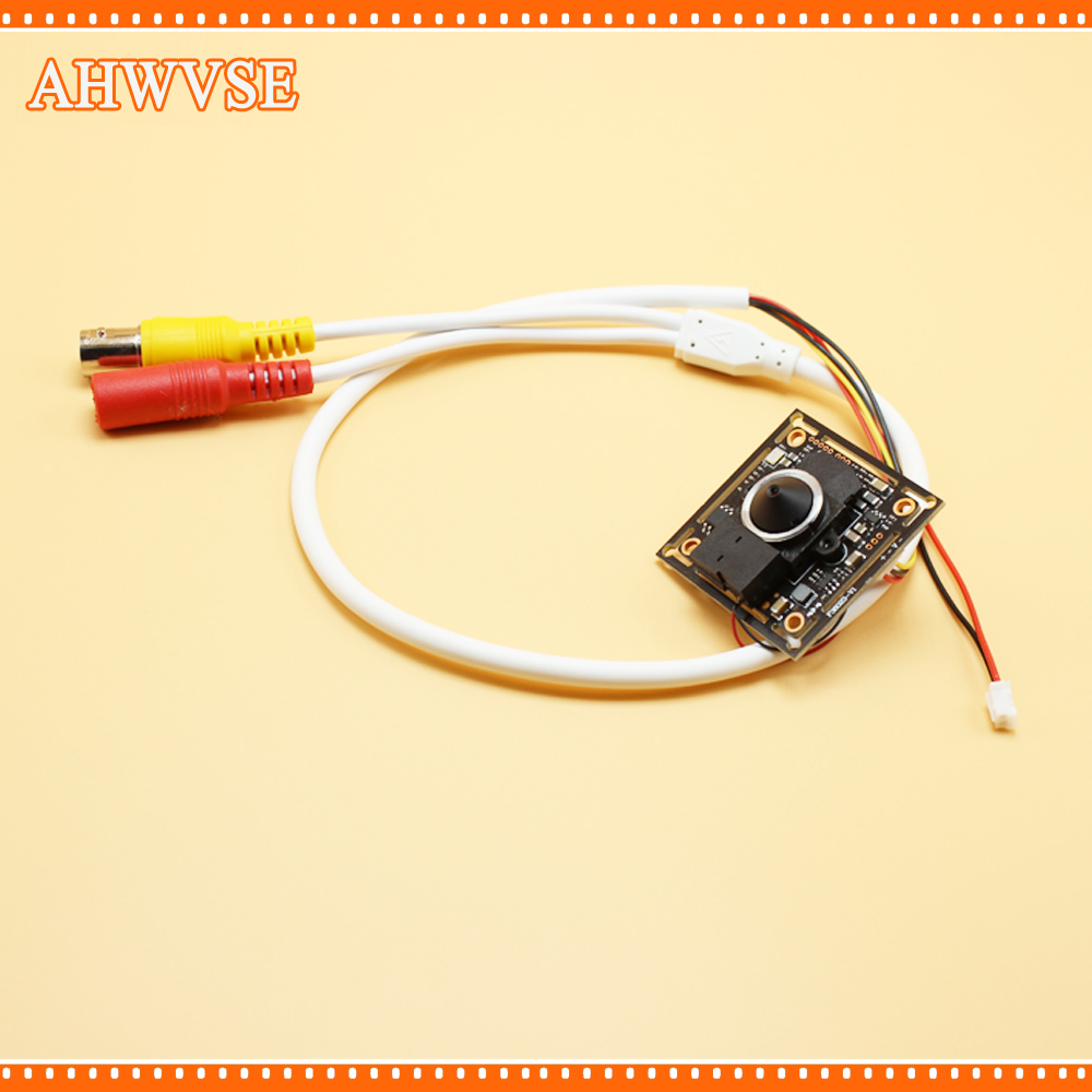 AHWVSE 4pcs/lot HD 1.0MP Video Surveillance Camera 720p AHD Camera module with Wide Angle 3.7 mm lens