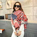 cashmere scarf women za winter plaid blanket scarf women worsted cashmere acrylic wrap shawls female knitted pashmina scarf