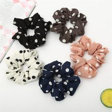 New Women Elastic Hair Rope Ring Tie Scrunchie Ponytail Holder Hair Band Headband hair accessories hair bands for women *30(China)