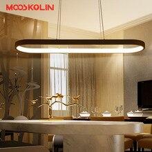 2017 New Creative Moderne LED Pendentif lumières Cuisine Acrylique Suspension Suspendus Au Plafond lampe pour salle À Manger Lamparas Colgantes