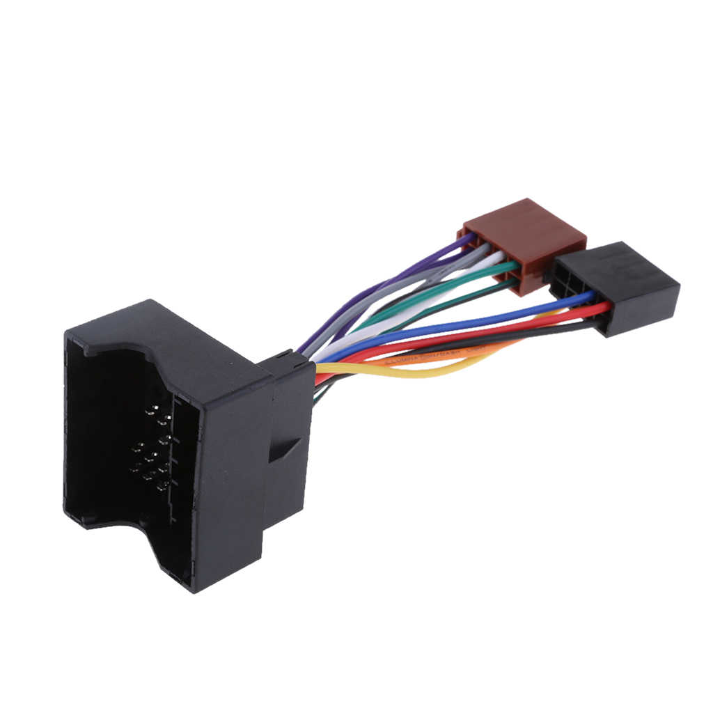 For Ford Fiesta Focus C-Max Fusion ISO Stereo Head Unit Adaptor Wiring Lead PC2-84-4 For All FUSION (2002-2008)