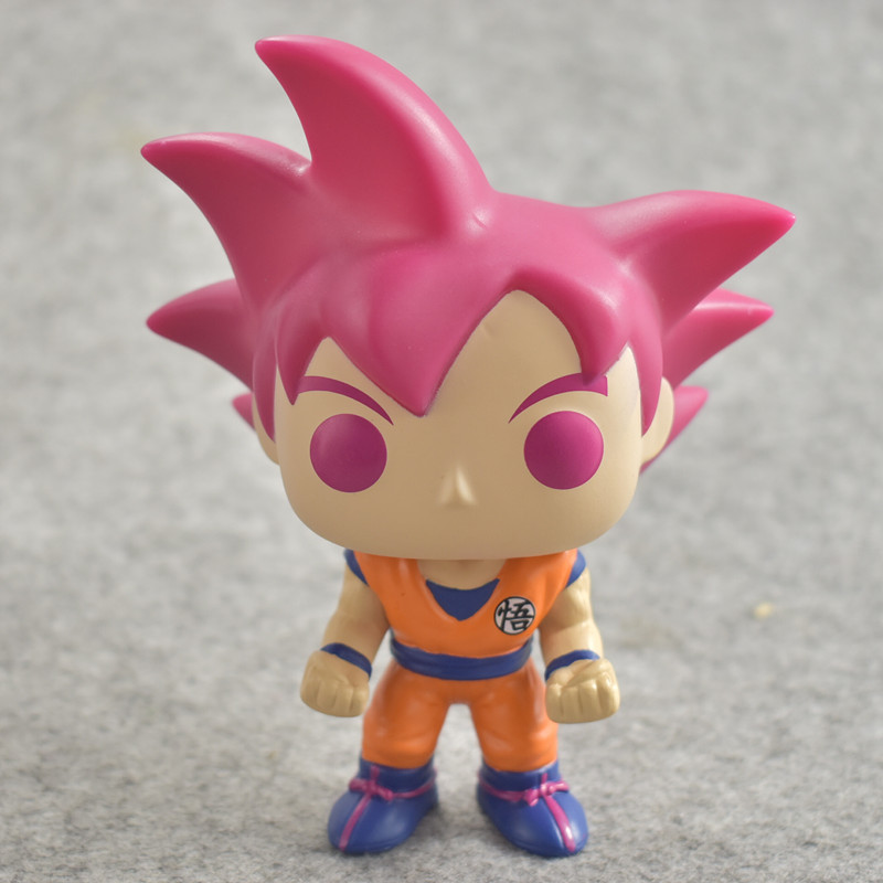 2018 Dragon Ball Toy Son Goku Action Figure Anime Super Vegeta Model Doll Pvc Collection Toys For Children Christmas Gifts in Action Toy Figures from Toys Hobbies