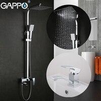 GAPPO Смесители бассейна ванной кран латунь смеситель для раковины смесители для душа водопад смеситель для ванны