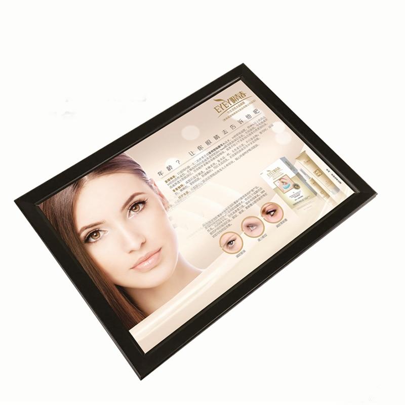 A2 Single Side Snap Frame LED Light Boxes,Snap Open LED Edgelit Signs Displays Light Pockets