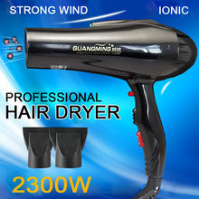 Professional blow Hair Dryer Ion Beauty Health HairCare Styling Tools black Fashion Hot&cold wind 2300W Nano titanium hairdryer