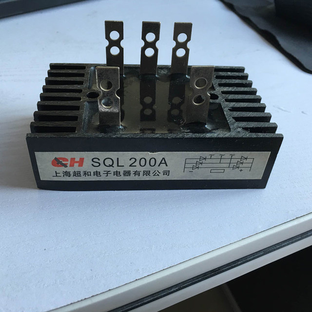 SQL200AเฟสไดโอดสะพานR Ectifier 200A 1200โวลต์แบรนด์ใหม่