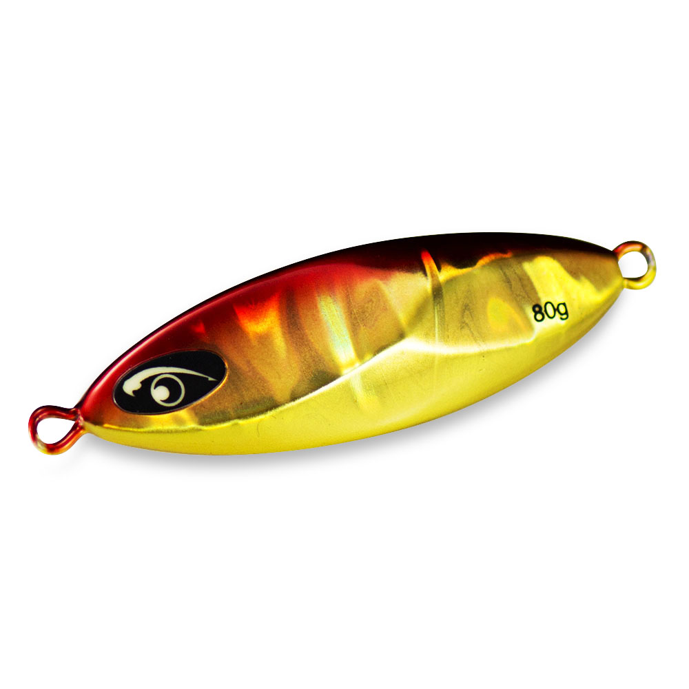 20g 30g 45g <font><b>60g</b></font> Countbass S2 Short <font><b>Slow</b></font> Pitch Metal <font><b>Jigs</b></font> Fishing Lure with Luminous Eyes Lead Jigging Lures Angler's Chooice image