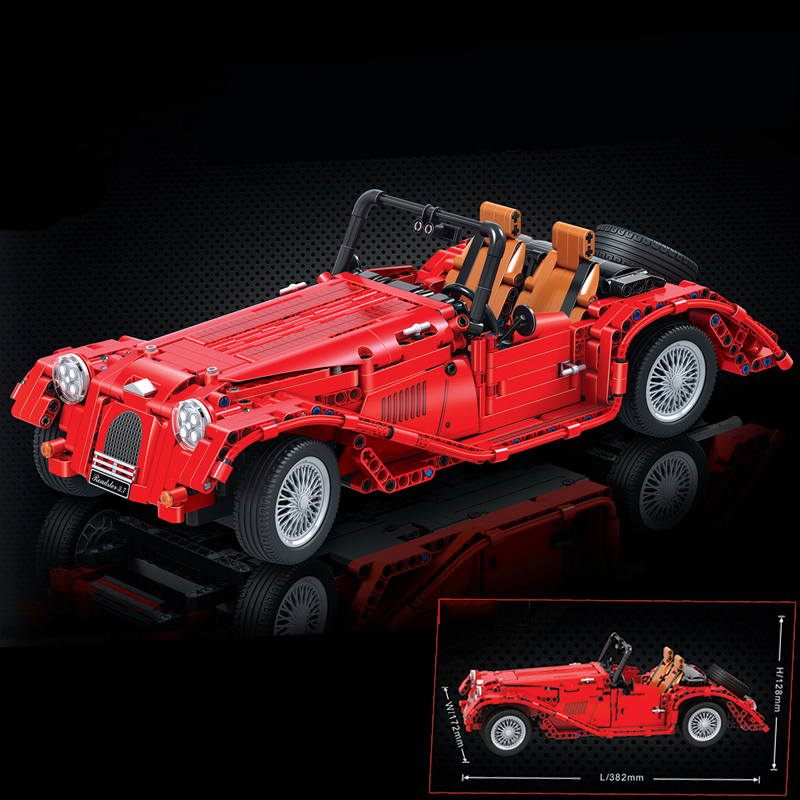 New Diy Technic Red Convertible Car Model Building Blocks Bricks Educational Toys For Children Gifts Compatible With LegoinglyNew Diy Technic Red Convertible Car Model Building Blocks Bricks Educational Toys For Children Gifts Compatible With Legoingly