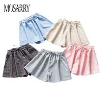 Summer Women Casual Ladies Plus Size Cotton Female Shorts