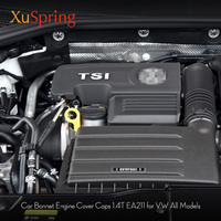 FOR VW Octavia Touran Tiguan Golf7 For Seat Leon MK3 1.4T EA211 Engine Cover Bonnet Cap 04E103925H 04E103932D