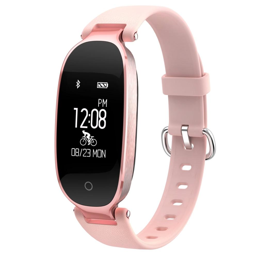 Beseneur S3 Smart Bracelet Girl Women Dynamic Heart Rate Monitor Wristband Female Sport Smartband For Android