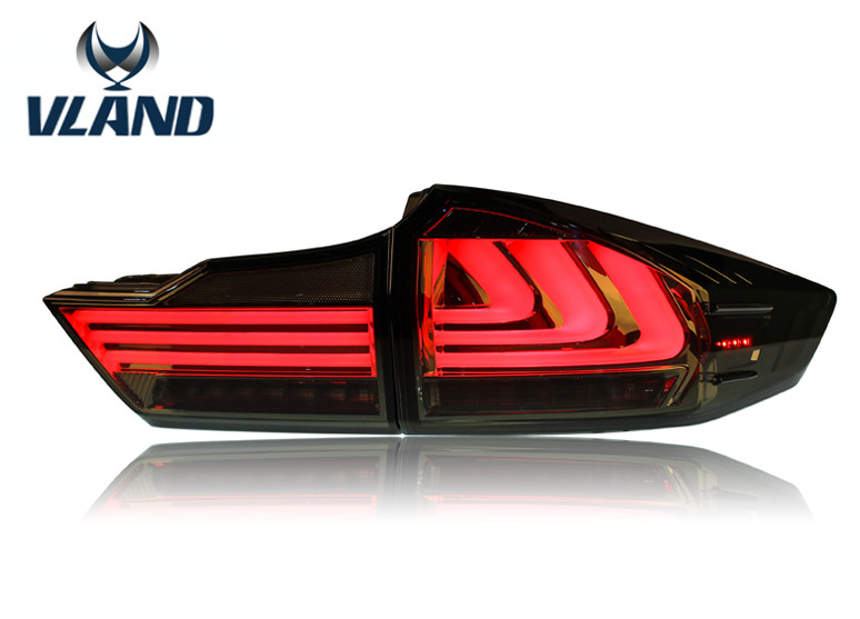 Free shipping for vland Car Head Lamp for Prado 2014-2016 Land cruiser Prado Headlight LED Daytime Running Light Xenon HID