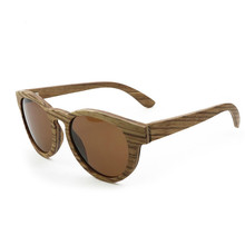 Fashionable sunglasses wooden men driver glasses dazzling film womens fashionable retro