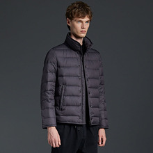 Light simple brand name Winter mens down jacket for autumn and winter wearing white duck warm jackets Coat