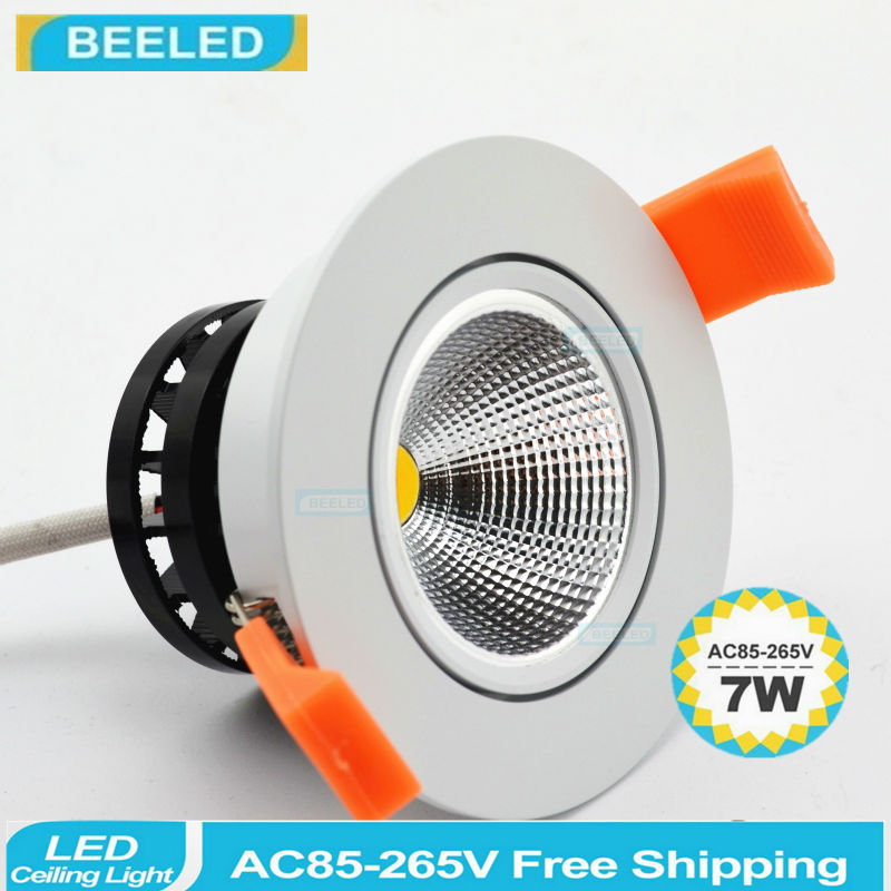 6 pack in 3W 5W 7W LED downlight Recessed LED Ceiling light Spot Lights COB led lamps Dimmable in stock Germany warehouse fast triac dimmable 0 10v dimmable dali dimmable 130lm w 50w gimbal downlight 360 degree recessed ceiling led lights 12pcs lot