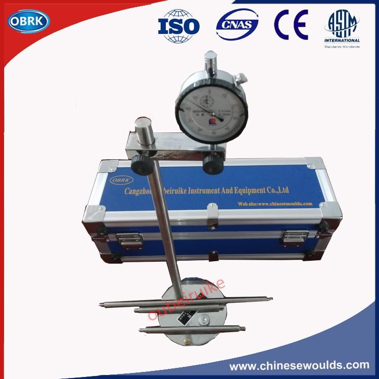Digital Steel Cement Length Change Comparator Apparatus