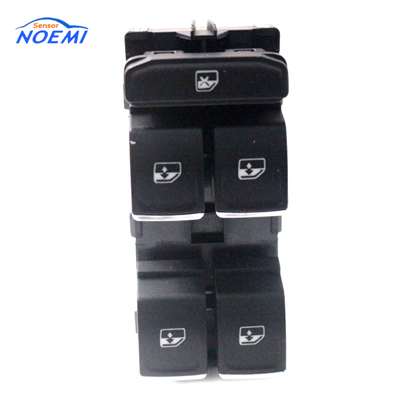 YAOPEI OEM 5G0959857C Power Window Switch Control Button For Volkswagen VW Golf Mk7 Passat B8 Tiguan Touran 2014-2018