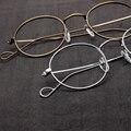 2016 de alta calidad de metal super fino marcos de los vidrios unisex de la vendimia gafas de montura de gafas para mujer gafas de grado A274
