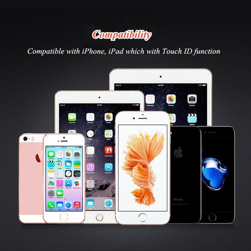Barmaq tanıma funksiyası olan iPhone 8 7 6 6s Plus 5 5s üçün - Cib telefonu aksesuarları və hissələri - Fotoqrafiya 6