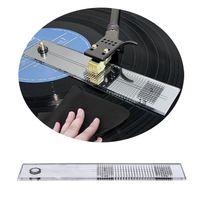 LP виниловый картридж Stylus Azimuth компенсация угол калибровки Калибровочная линейка регулировки для проигрыватель пластинок ww0823