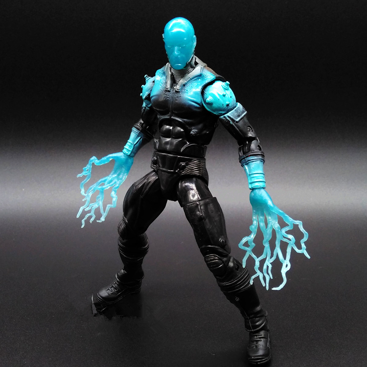 1pcs <font><b>SpiderMan</b></font> Electro <font><b>Sinister</b></font> <font><b>Six</b></font> Captain America3 Marvel PVC Action Figure Collectible Avengers Movable 15cm Birthday Gift