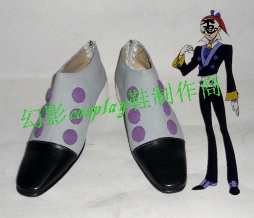 Épée histoire Emonzaemon Souda Halloween Cosplay chaussures H016