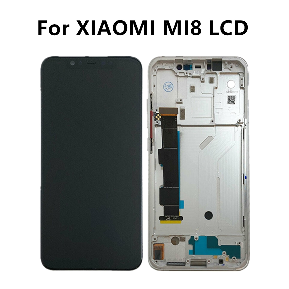 For Xiaomi Mi 8 LCD Display Touch Screen Digitizer For Xiaomi Mi8 LCD Assembly Xiaomi Mi 8 Display AMOLED Mi8 Screen Replacement-in Mobile Phone LCD Screens from Cellphones & Telecommunications