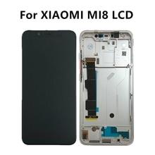 Xiao mi mi 8 lcd 디스플레이 터치 스크린 디지타이저 xiao mi mi 8 lcd 어셈블리 xiao mi mi 8 디스플레이 amoled mi 8 스크린 교체