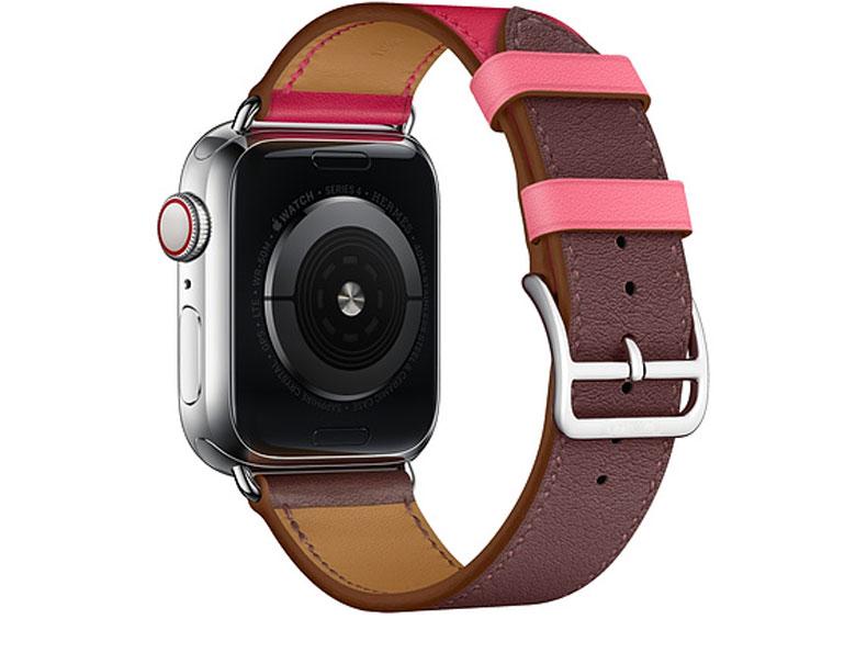 Bracelet femme pour Apple Watch en Cuir