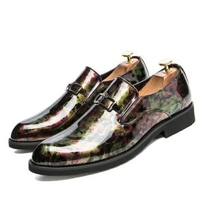 Image 2 - ZIMNIEยี่ห้อสิทธิบัตรหนังOxfordรองเท้าสำหรับชายอย่างเป็นทางการผู้ชายรองเท้าPointed Toeธุรกิจรองเท้าแต่งงานขนาด38 ~ 46