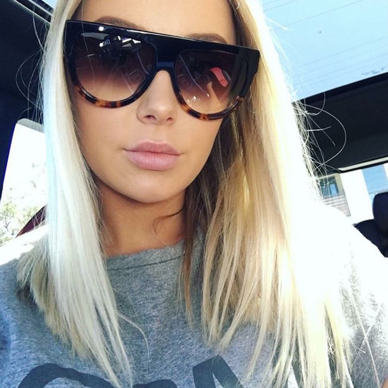Dizainera saulesbrilles sievietēm 2017 augstas kvalitātes Lunette De Soleil Oculos saulesbrilles sievietēm sunglases Kim Kardashian saulesbrilles
