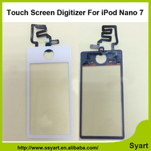 1pcs Black White new Top quality  Replacement Front Touch Screen Digitizer Glass Lens with tools For iPod Nano 7 7th 7Gen nano7