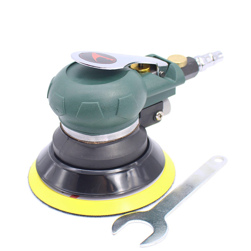 5 inch 125mm Pneumatic Sanders Pneumatic Polishing Machine Air Eccentric Orbital sanders Cars polishers Air Car tools 1pc white or green polishing paste wax polishing compounds for high lustre finishing on steels hard metals durale quality