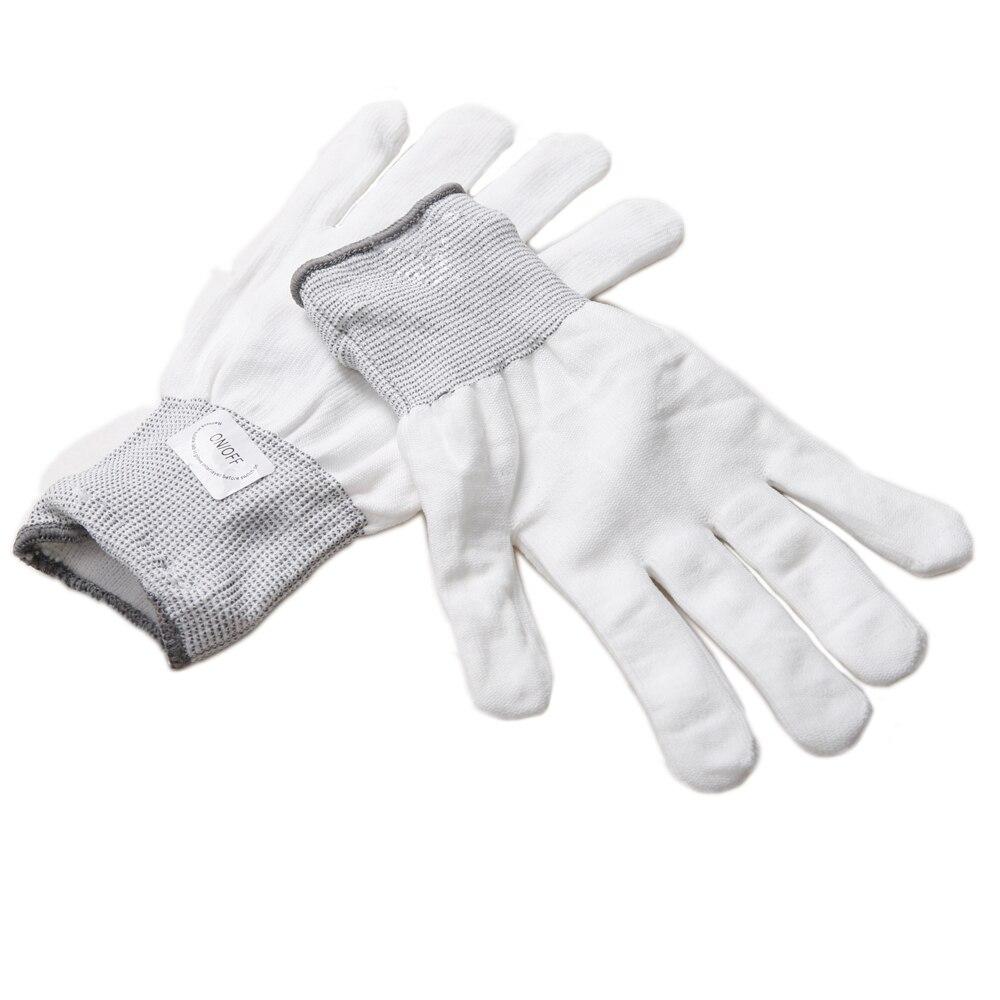 Black light gloves - Party 7 Mode Led Gloves Rave Light Flashing Finger Lighting Glow Mittens Magic Black