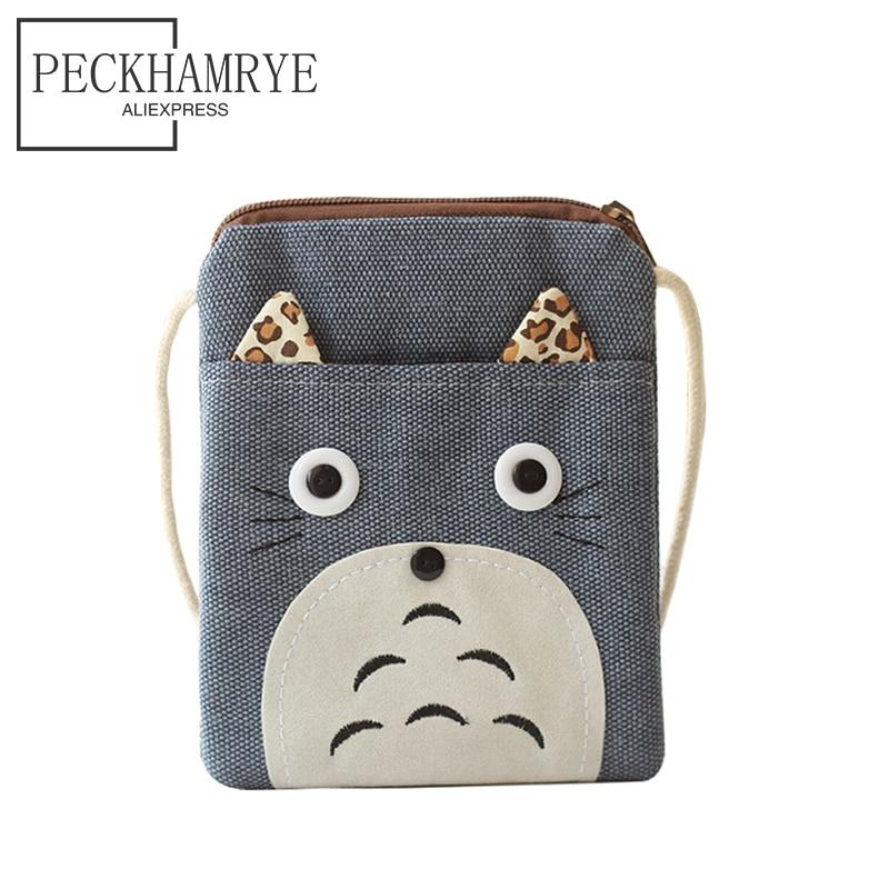 PECKHAMRYE wallet children Totoro bags children's purse wallets boys mini kids boys bag Children's gifts Cartoon Cute coin purse