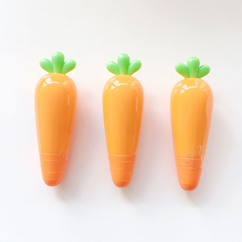 Kawaii Cute Carrot Vegetable Correction Tape School Office Supplies Student Creative Stationery Kid Gift Office Accessories Glue