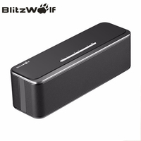 BlitzWolf 20W Dual 10W Mini Wireless Bluetooth Speaker Portable Stereo Soundbar With Microphone For iPhone Mobile Phone PC Music
