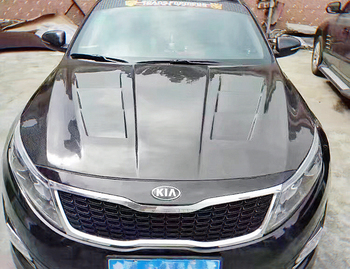 Carbon Vented Hood For KIA K5 (2011-2015) Optima TF EPT2 Style Carbon Fiber/FRP Hood Body Kits Tuning Trim Part For K5 Racing