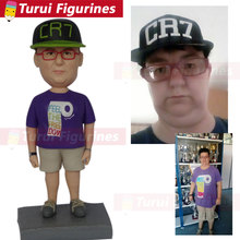 Polymer clay figure MLB Custom Bobbleheads miniature sculpture reproductions resin figurines cake topper suppliers