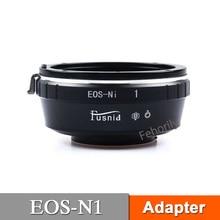 купить EOS-N1  Adapter for EF Lens to 1 N1 J1 J2 J3 J4Mirrorless Camera по цене 758.98 рублей