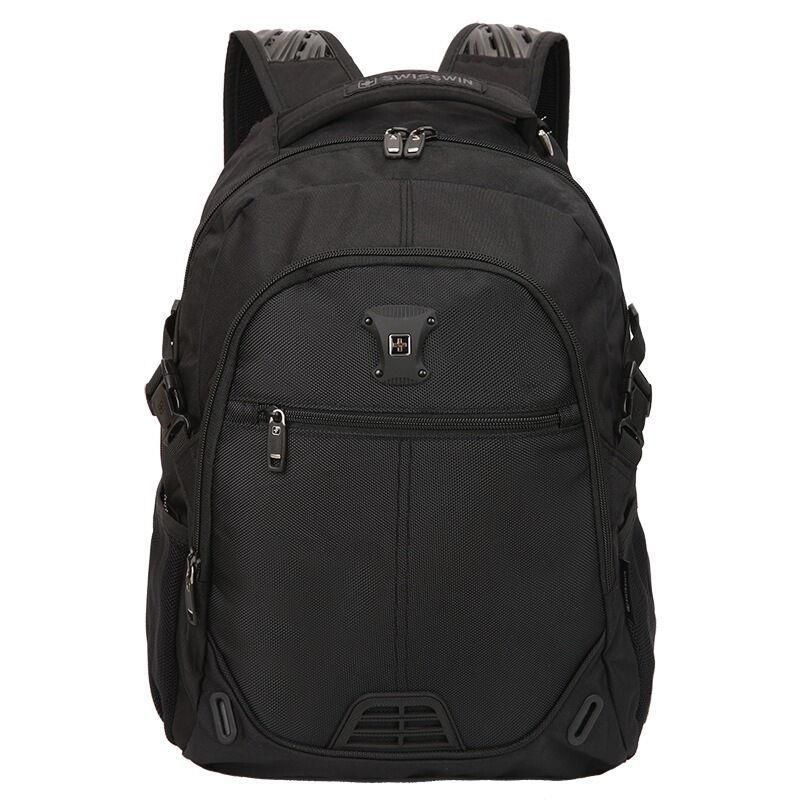 ФОТО Swisswin brand design 14 - 15 inch men's backpack women travel bags computer casual bag girls mochina teenage Boy sac a dos
